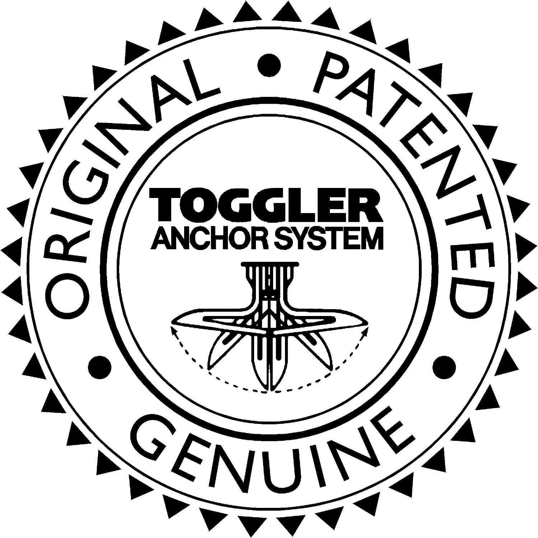 Toggler 25029 SnapToggler M6 Bolt Anchor Pack of 50 Silver