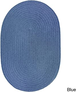 product image for Rhody Rug Venice Indoor/Outdoor Oval Rug by (3' x 5') Blue 3' x 5', 4' Round/Square