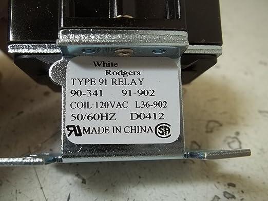 amazon com emerson 90 341 switching relay 115 120v home improvement rh amazon com 8 Pin Relay Wiring Diagram Simple Relay Switch Wiring Diagram