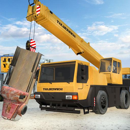 junk-yard-truck-driver-parking