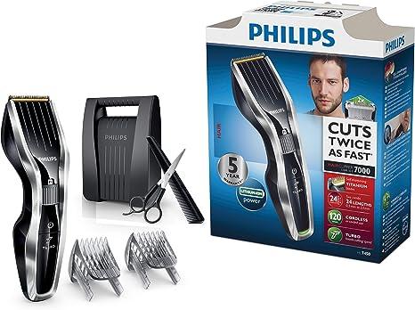 Philips HAIRCLIPPER Series 7000 HC7450/80 - Afeitadora (0,5 mm, 2 ...