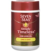 Seven Seas Omega-3 Fish Oil Plus Cod Liver Oil One-a-Day 60 Capsules