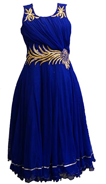 Beautiful Blue floor length dress/gown for girls of age of 9