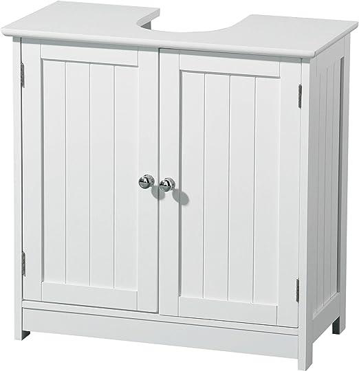 Premier Housewares - Mueble para Debajo del Lavabo (Madera, 2 ...