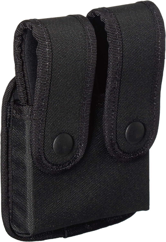 B000MF7PN8 Uncle Mike's Kodra Duty Nylon Web Single Stack Double Snap Close Pistol Mag Case, Black 81jQrKZskZL