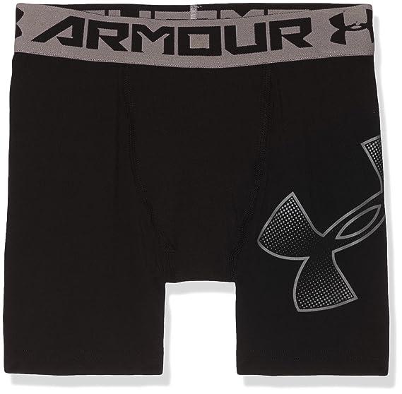e95a48b8dd Under Armour Boys Heatgear Armour Mid Shorts