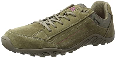 Bruetting Racewalk, Damen Walkingschuhe, Grau (grau/pink), 36 EU