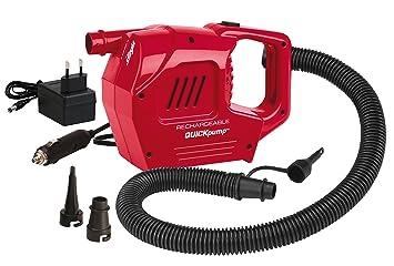 Bootsport Coleman Quick-Pumpe 230 Volt Luftpumpe Inkl Schlauch und Adapter