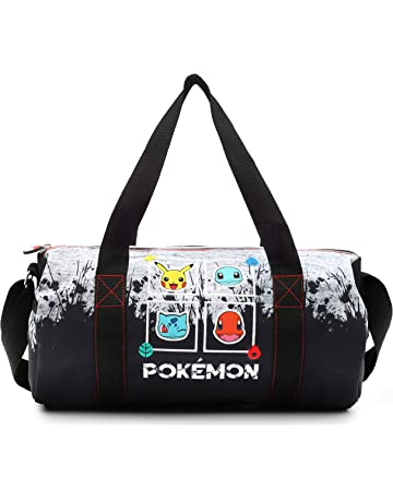 90f113a665 Pokemon Sac École et Voyage avec Écussons Pikachu Bulbizarre, Salamèche et  Carapuce | Sac en