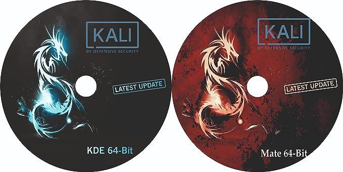 2 DVD Combo Pack Kali Linux Kde 64 Bit And Kali Linux Mate