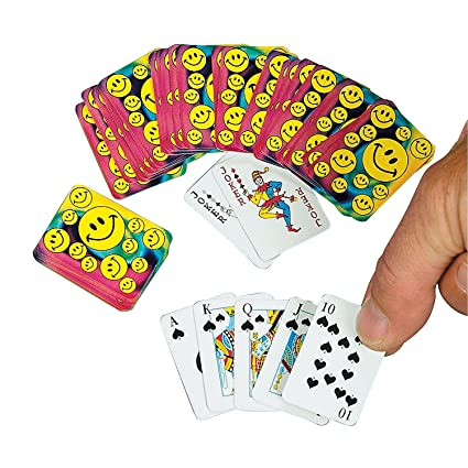 Amazon.com: Mini SMILE Face Juego de cartas (1 Dozen) – Bulk ...