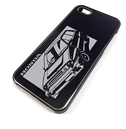 iPhone 5/5S Black Case HONDA CITY TURBO KIRIE Design [CI5-026]