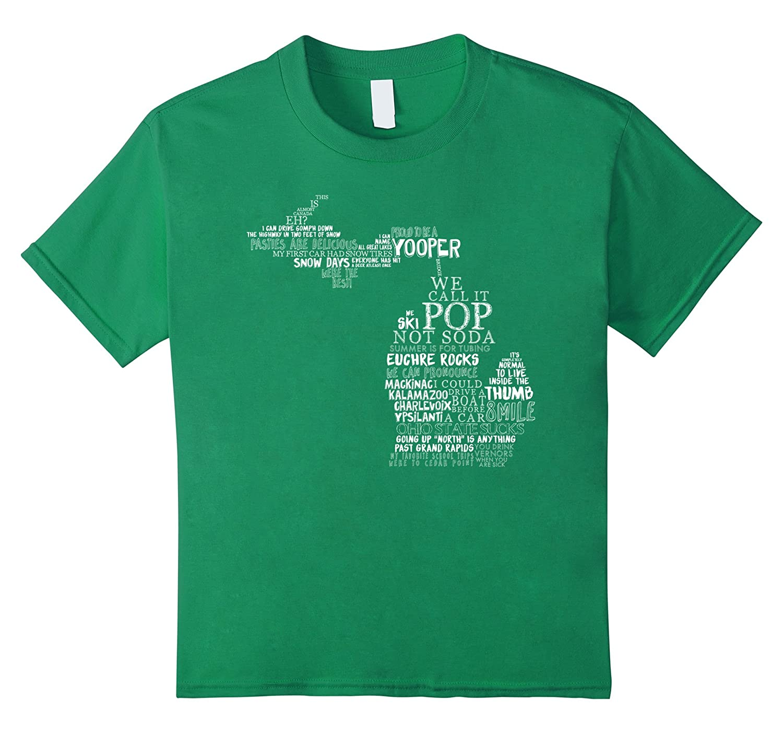 Womens Proud Michigan T Shirt Royal-Tovacu