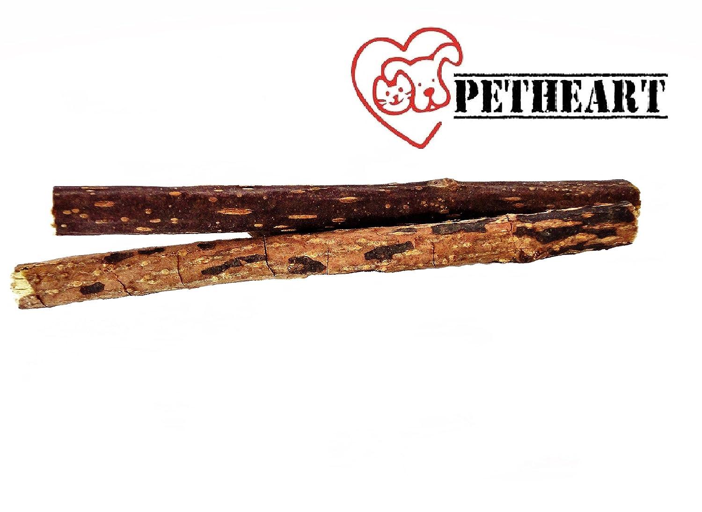 Petheart catnip sticks para la limpieza de los dientes juguetones - catnip toy