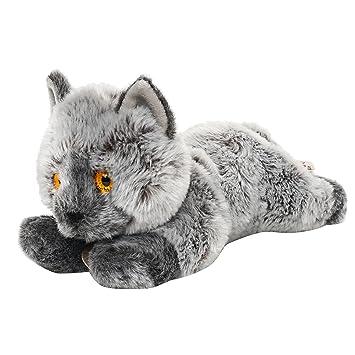 Peluche KEEL 30 cm Gato británico de pelo corto: Amazon.es: Juguetes y juegos