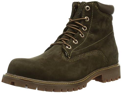 bcc1cf79 Timberland 6 In Basic Alburn Waterproof, Botas para Hombre: Amazon.es:  Zapatos y complementos