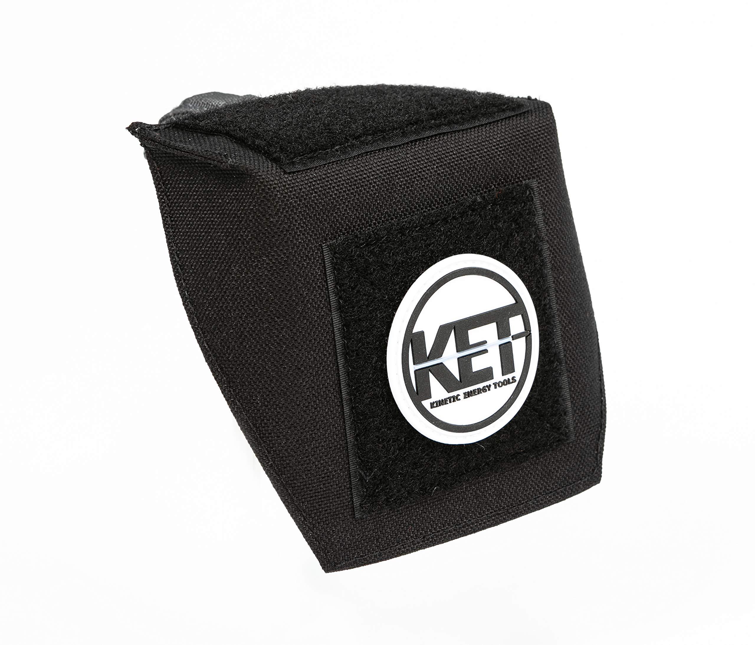 KET Brass Deflector: Brass Catcher Alternative - Scope & Pic Rail Mounts Included by KET