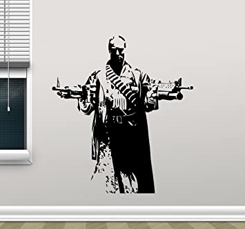 Punisher Wall Vinyl Decal Marvel Superhero Wall Sticker Video Game Gaming  Wall Decor Cool Wall Art Part 69