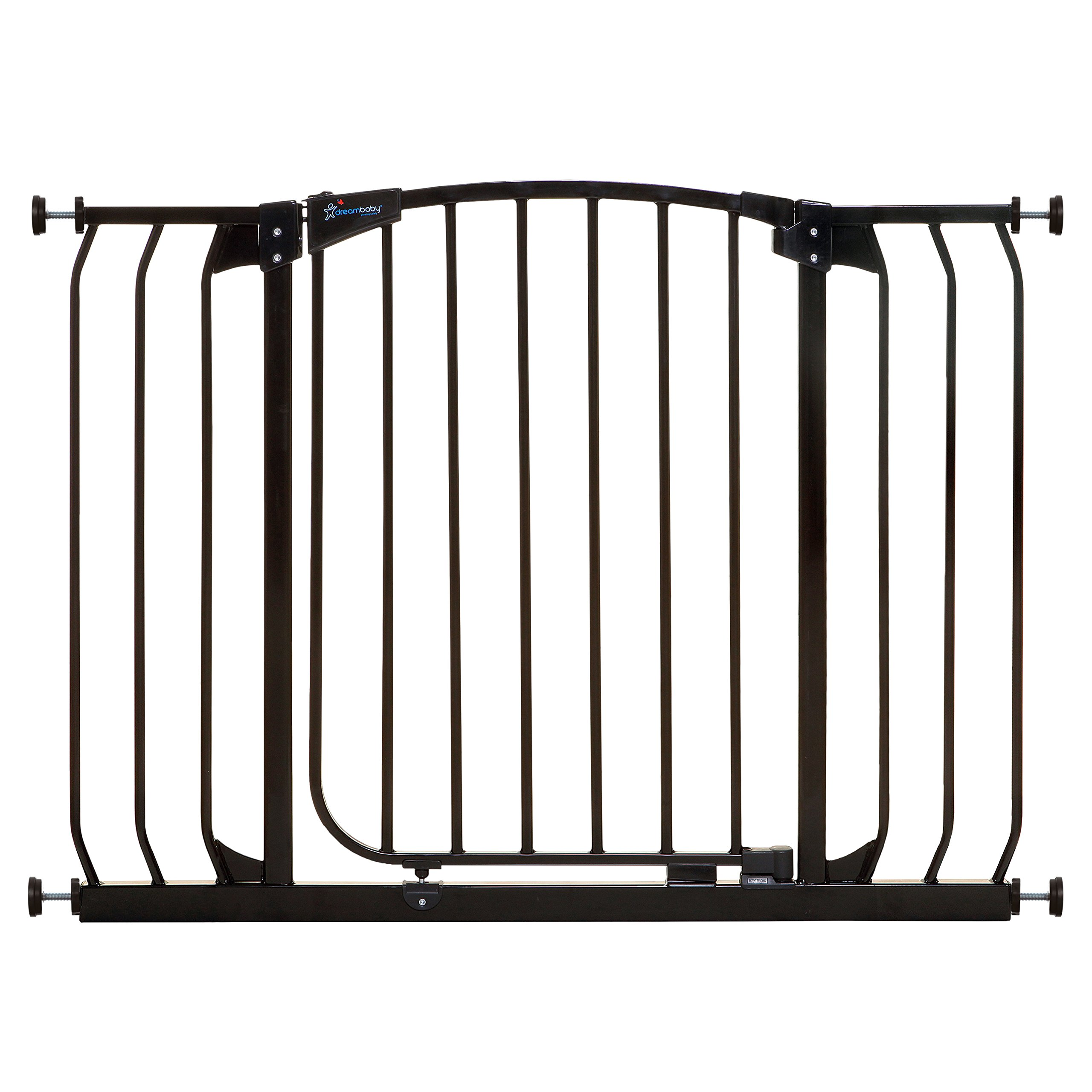 Dreambaby Chelsea Extra Wide Auto Close Security Gate in Black by Dreambaby (Image #1)