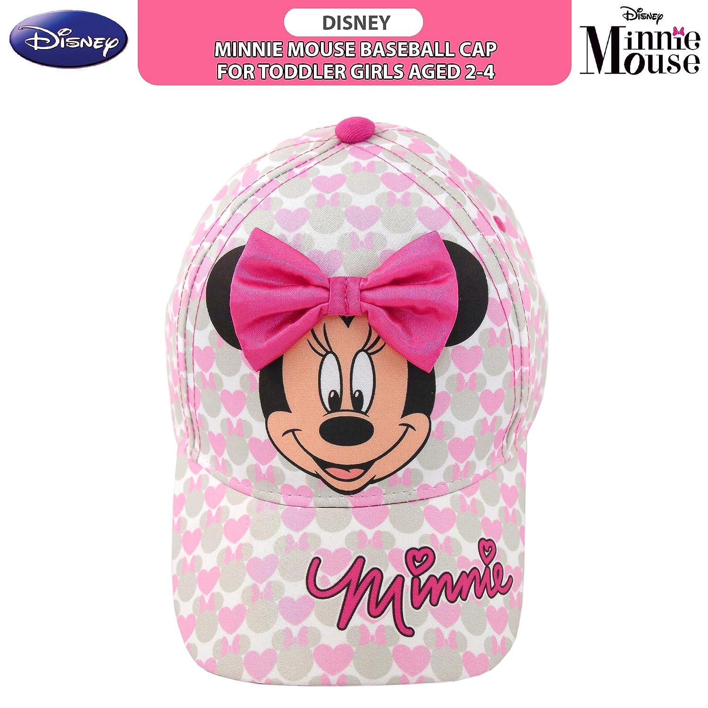 73666a83e Amazon.com: Disney Toddler Girls Minnie Mouse Bowtique Baseball Cap, Age  2-4: Clothing