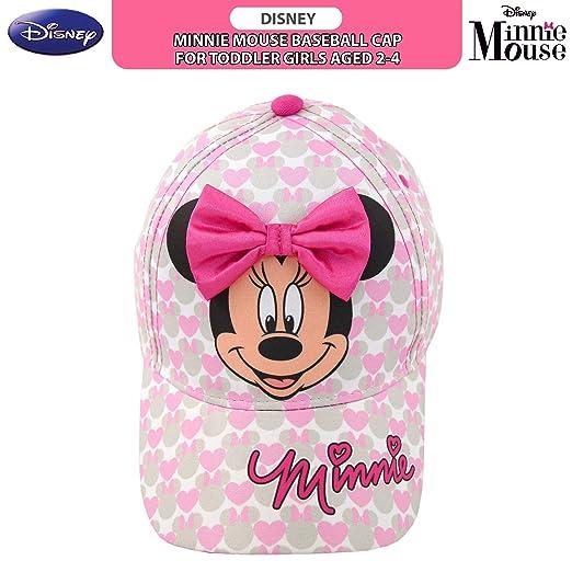 pretty nice 85ec2 fef6f Amazon.com  Disney Toddler Girls Minnie Mouse Bowtique Baseball Cap, Age 2-4   Clothing