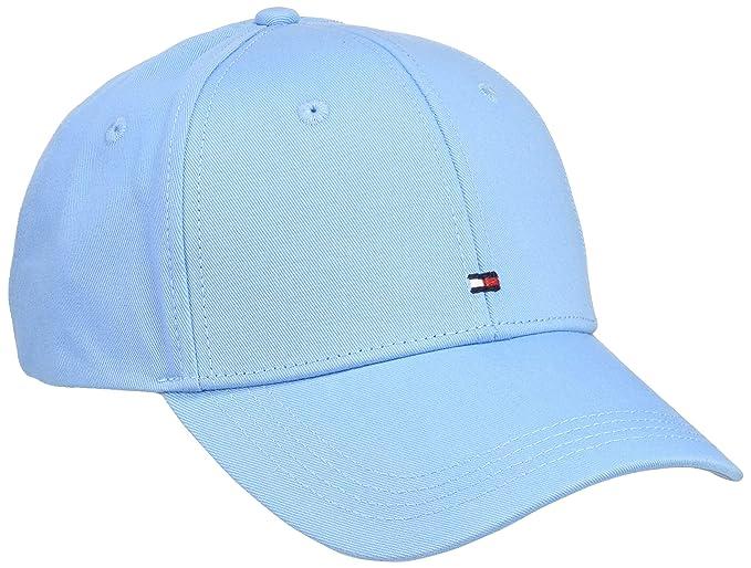 Tommy Hilfiger BB Cap Gorra de béisbol, Azul (Alaskan Blue 410), única (Talla del Fabricante: OS) para Hombre: Amazon.es: Ropa y accesorios