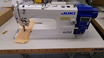 Máquina de coser industrial DDL 7000A de Juki, cortadora de hilos, totalmente automática, máquina de coser industrial, completa (con mesa y soporte): Amazon.es: Hogar
