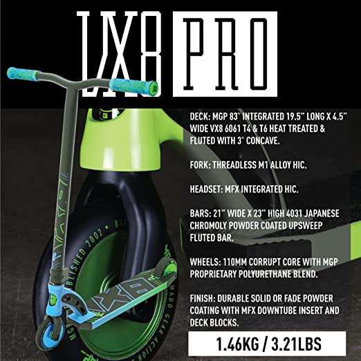 Madd Gear MGP VX8 Freestyle - Patinete Profesional, Color ...