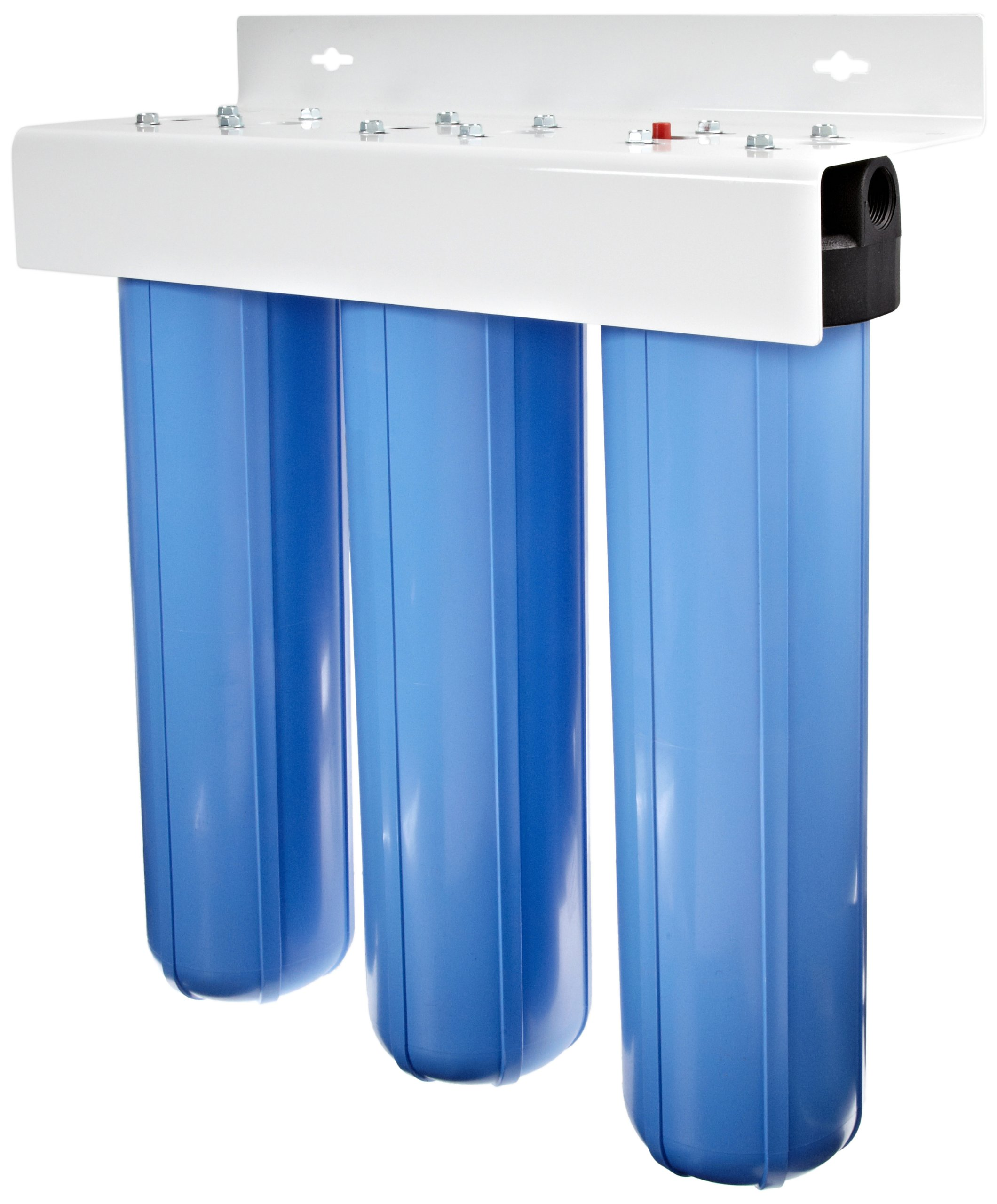 Pentek 160168 BBFS-222 1'' #20 Big Blue Three-Housing Filter System
