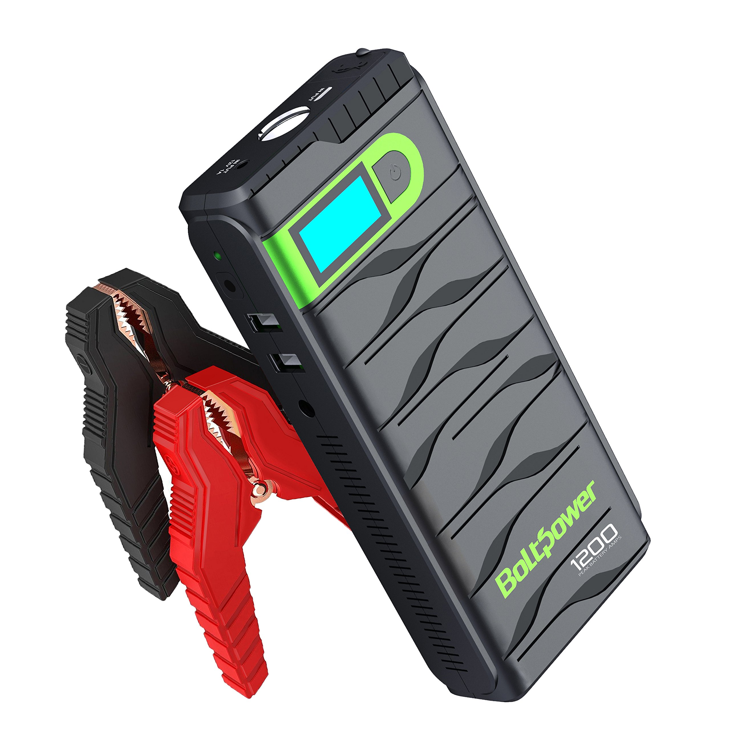 Bolt Power D28A 13600mAh Portable Car Jump Starter 400 AMP Peak With Air Compressor