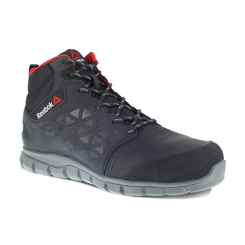 Reebok WORK ib1037s341Excel Light Herren Aluminium Fuß S3Sicherheit Stiefel, Größe 41, Schwarz Warson Group Inc. IB1037S3 41