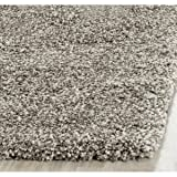 Safavieh Milan Shag Collection SG180-8080 Grey Area