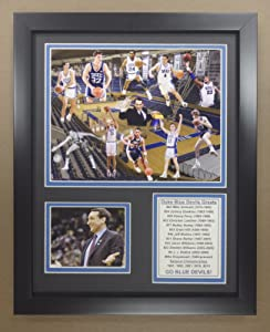 Legends Never Die NCAA All-Time Greats Framed Photo Collage