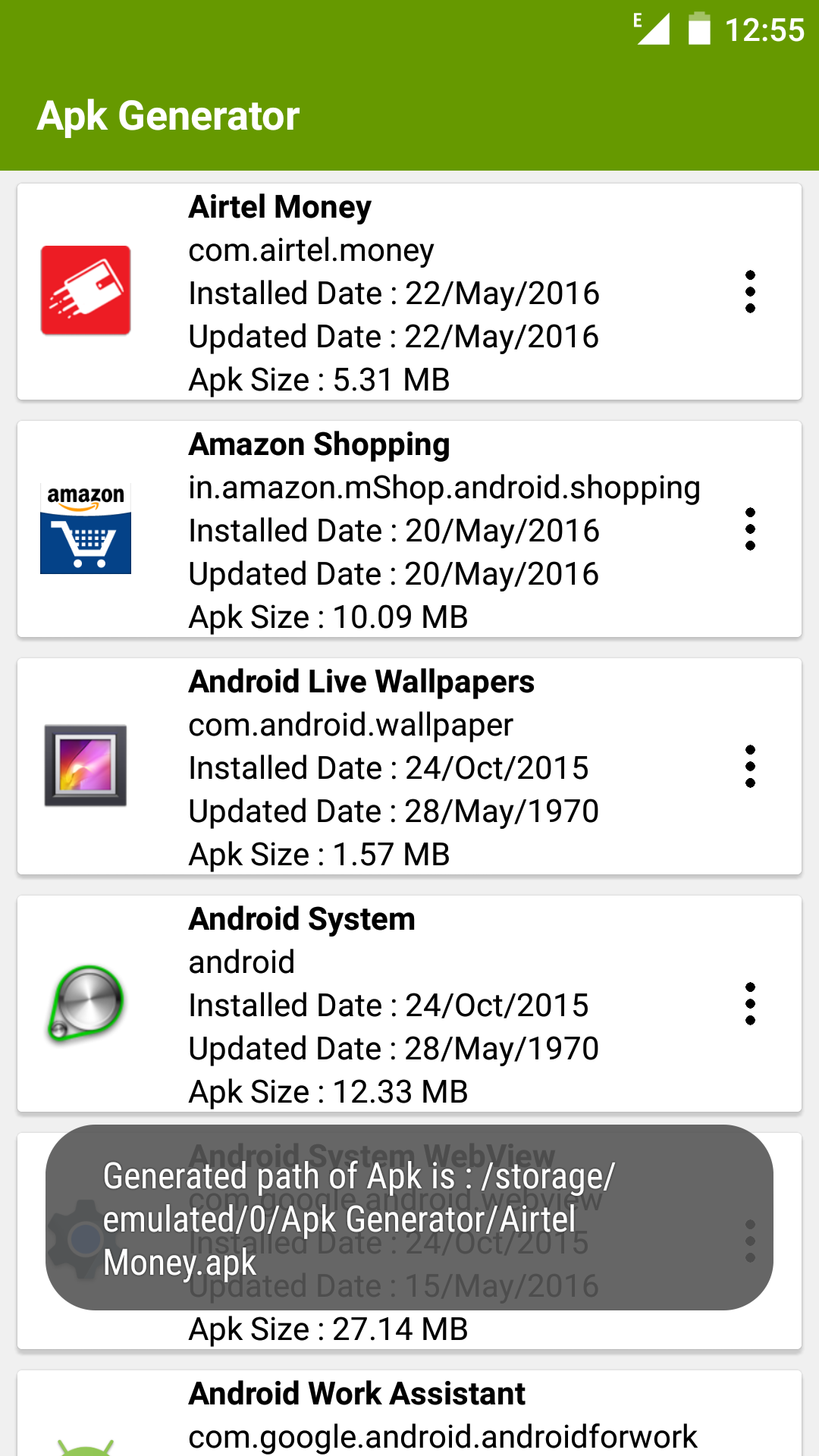 Amazon com: Apk Extractor: Appstore for Android
