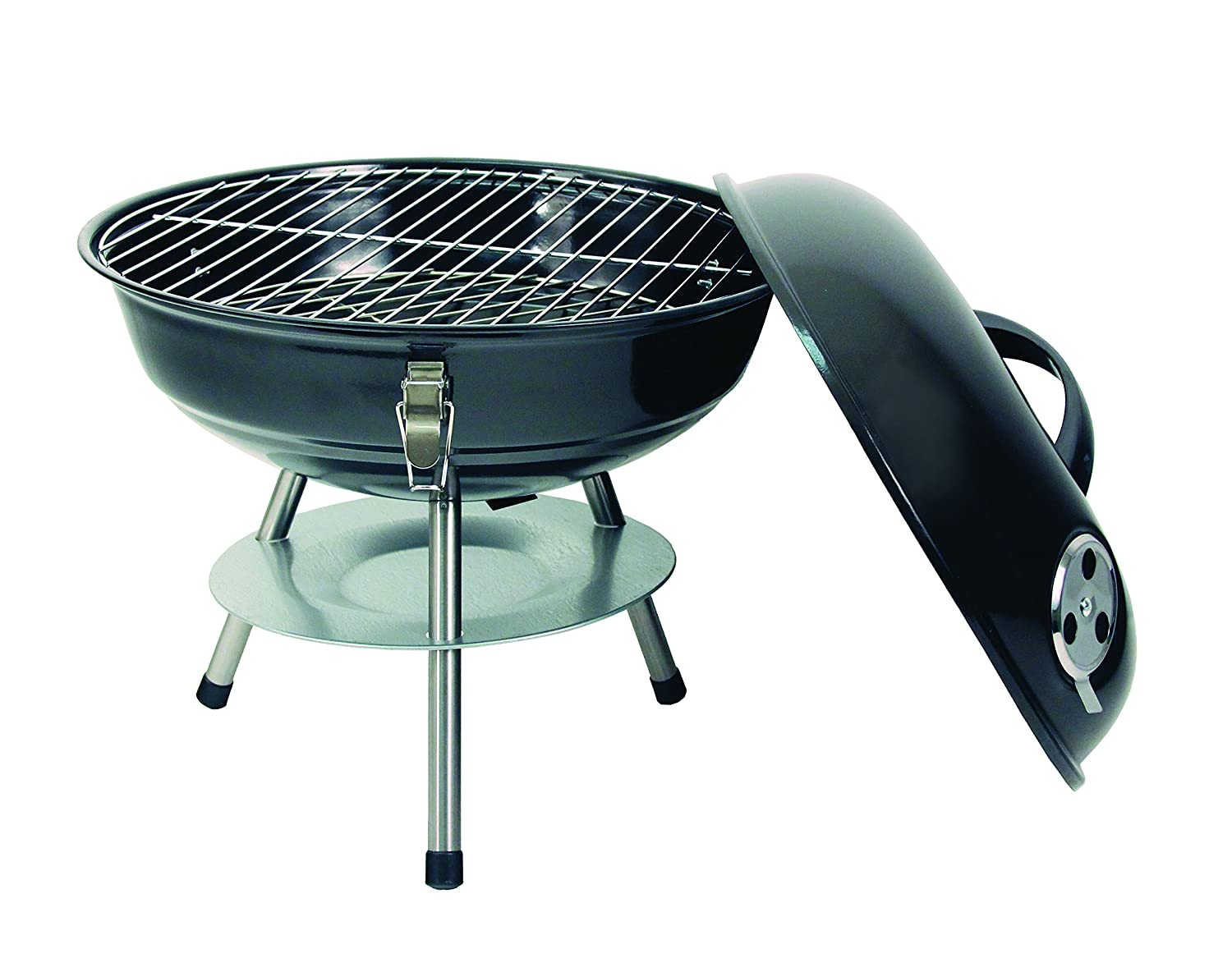 Amazon.com: Texsport - Parrilla para barbacoa, color gris ...