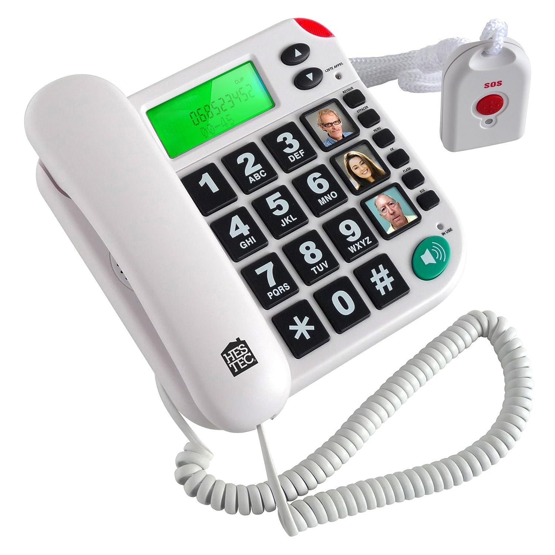 HESTEC Té lé phone/Té lé commande SOS 817212