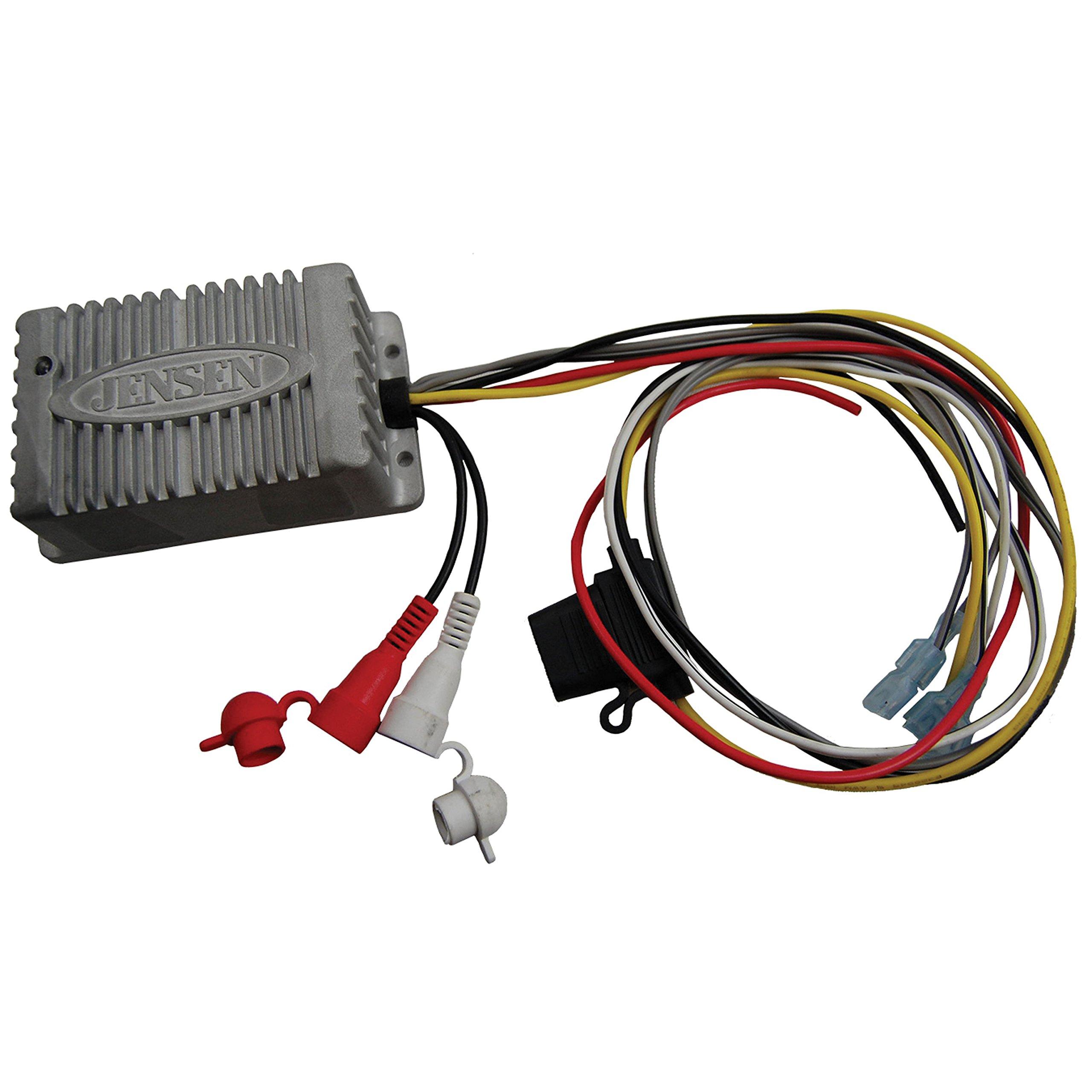 JENSEN JAHD240BT Two-Channel Bluetooth Amplifier by Jensen