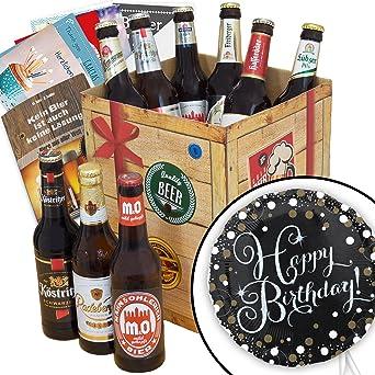 Geburtstagsgeschenke Für Männer Bier Geschenk Box Inkl Happy