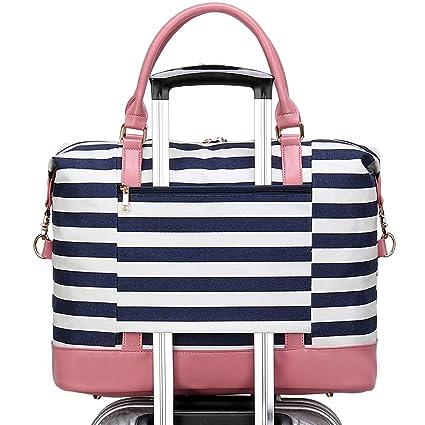 Amazon.com: Bolsa de viaje de lona para mujer, para llevar ...
