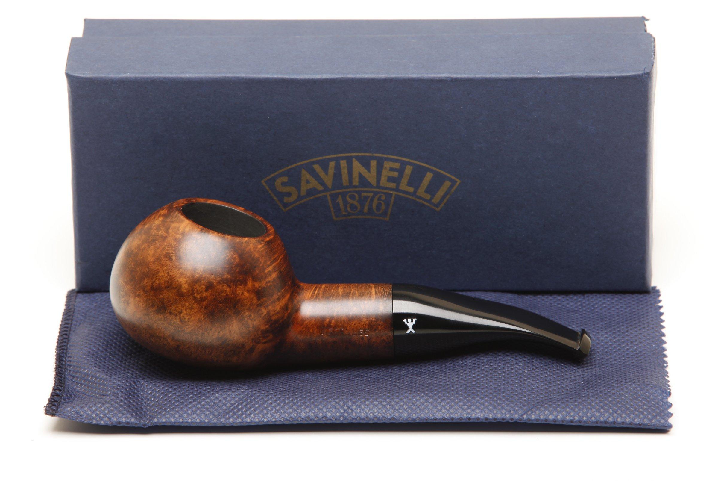 Savinelli Hercules Smooth 320 EX Tobacco Pipe