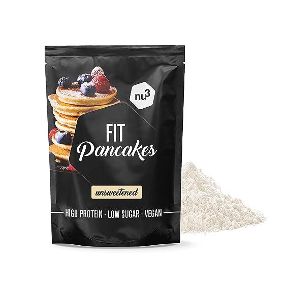 nu3 Fit Pancakes - Tortitas ricas en proteínas (28%) y bajas en ...