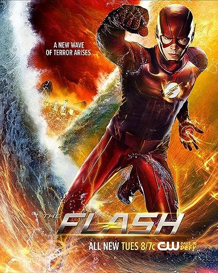 Onwijs Amazon.com: JIONK The Flash Season 2 Movie Poster 24X31.5 Inch DO-93