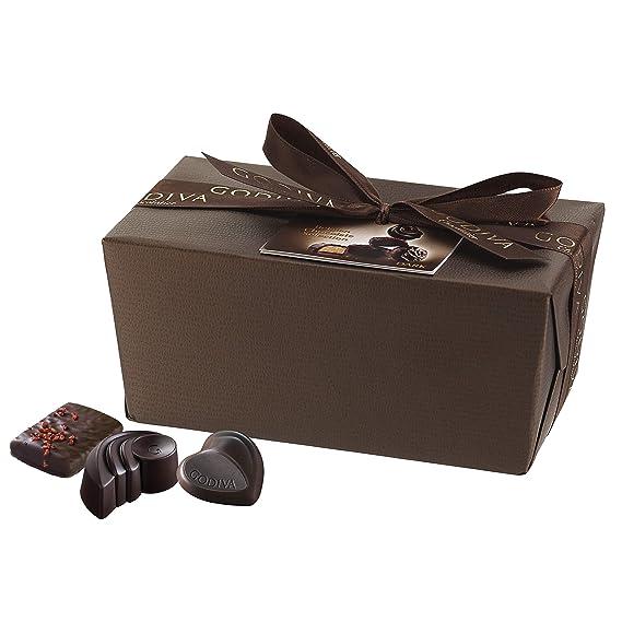 Godiva, Gold Ballotin bombones surtidos chocolate negro 40 piezas, 500g