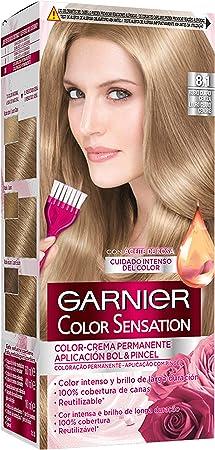 Garnier Color Sensation - Tinte Permanente Rubio Claro 8.1 ...