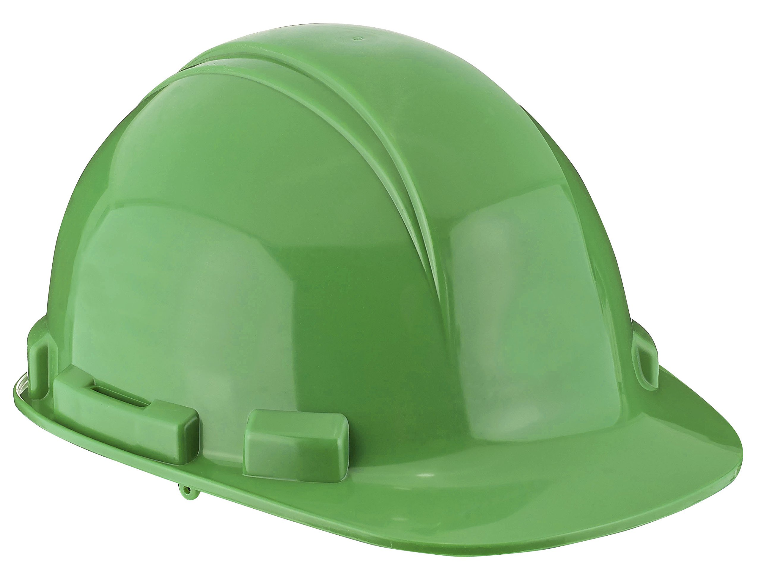 Dynamic Safety HP261R/45 Whistler Hard Hat with 6-Point Nylon Suspension and Sure-Lock Ratchet Adjustment, ANSI Type I, One Size, Lime Green