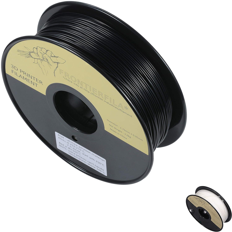 POM 1kg 1.75mm negro - Filamento para impresora 3D - FrontierFila ...