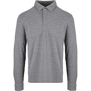 52f819bc Z ZEGNA Men's Vr394zzt639k09 Black Wool Polo Shirt: Amazon.co.uk ...