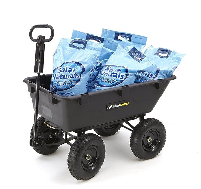 Amazon.com: Carretilla Gorilla Carts de jardín para ...