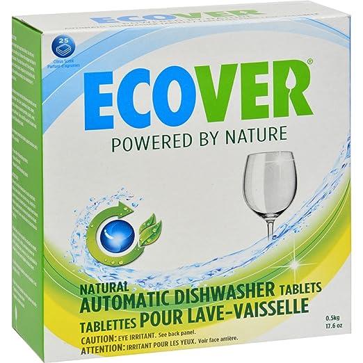Amazon.com: Ecover automático lavaplatos pestañas – 17.6 oz ...