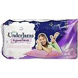 Pampers Underjams Sous-Vêtements de Nuit Absorbants Filles Taille 8 27+Kg L/XL (x9) Lot de 4